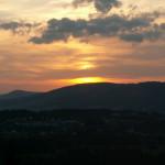 Zachód Słońca na Cyrhli